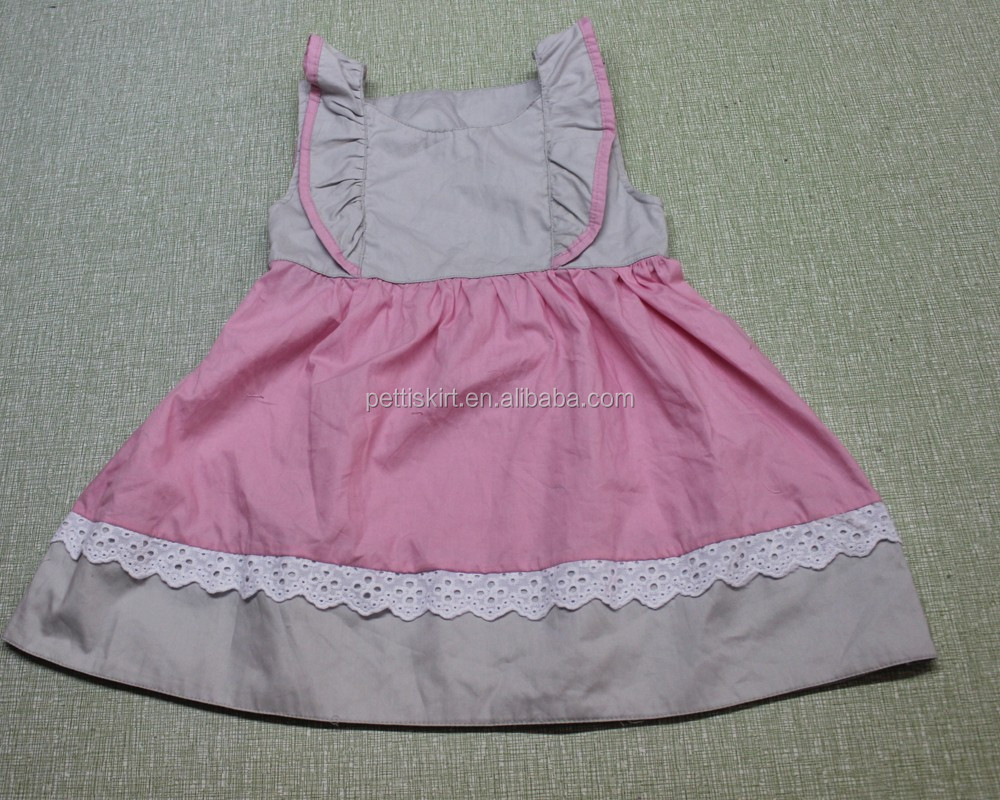 Latest wholesale clothing Children's CLothing Cotton Girl Children beautiful dresses for young girls