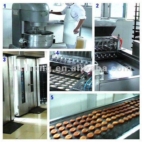 KH-200 multifunctional bakery oven /industrial rotary oven made in china