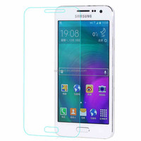 New arrival ! 0.33mm high transparency anti fingerprint tempered glass protector film for Samsung A7 2016