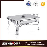 China supplier Double handle buffet stove for Restaurant for hotel
