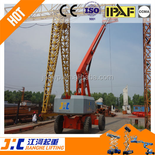 4WD 8-45M Telescoped Boom Manlift Aerial Lift