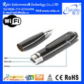 Hot Selling wearable hidden P2P battery powered ip with pen camera