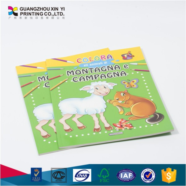 High quality children book printng with English educational story books