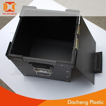 2017 new durable PP hollow storage boxes