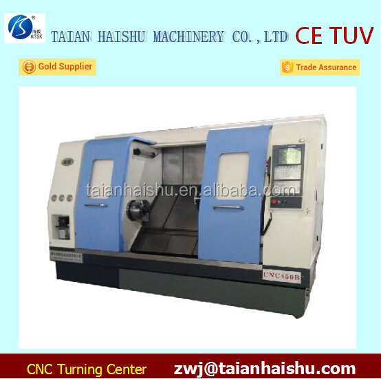 New on promotion hot sale precision cnc lathe machine and CNC turning center with live tooling turret