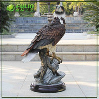Home Decoration Items Large Interior Polyresin Eagle Sculpture