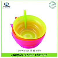Plastic Bowl with Straw 500ML