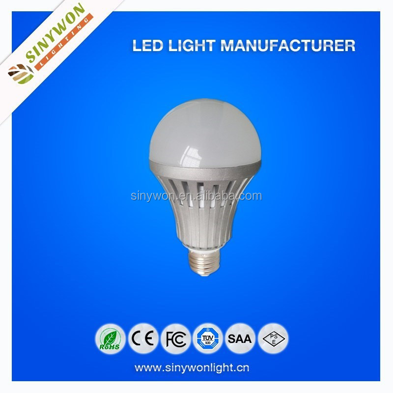 SYW-2014 Pretty LED with IC driver CE and RoHS Aluminum 80-100lm/w 7w E27 Led Light Bulb