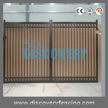 2017 New Design Cast Iron/ Aluminium/ Stainless Steel Gate Models Factory