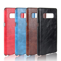 Retro style business grain leather Back Cover case for Samsung Note 8/Classical leather phone case for Samsung Note 8