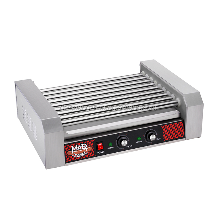 24 Hot Dog 9 Roller Grilling Machine 4332