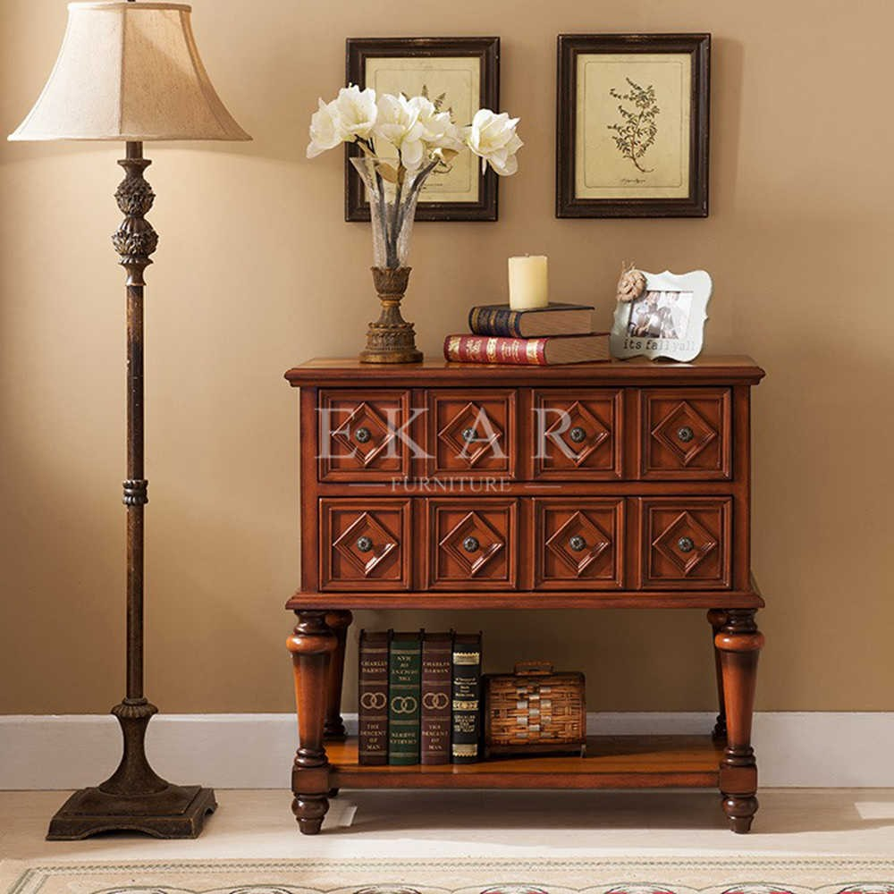 Antique living room set antique oak wood carving furniture for Wooden living room furniture