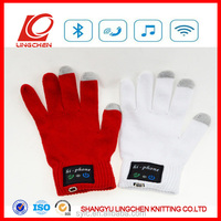 Touch Screen USB Bluetooth Talking Gloves Headset Speaker Smart Phone gloves