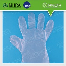 AD005 ODM disposable transparent elastic gloves for Food Handling