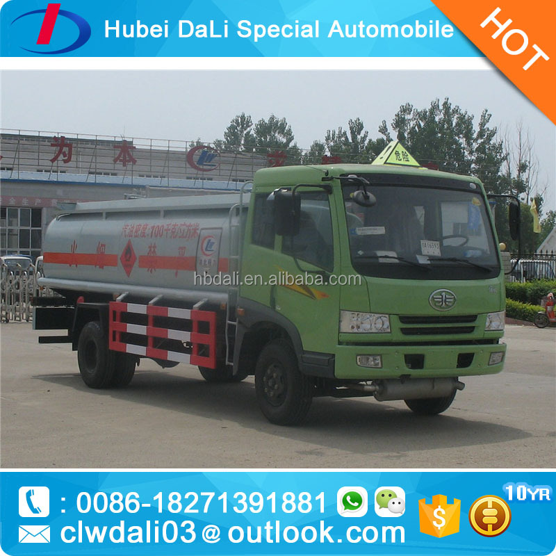 pictured diesel & petrol fuel truck truck fuel tank refining tank for sale