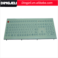 High Quality Front Panel Overlays Printing Computer Keyboard