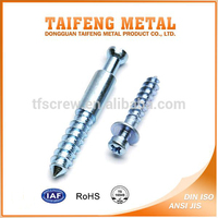 galvanized carbon steel self tapping cross head bolt