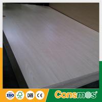 white ash /oak melamine paper faced plywood