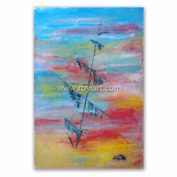 ROYIART Abstract Paintings with description of painting
