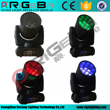 Factory hot sales RGBW 4in1 led 12X10W spread angle beam led moving head led wash stage light