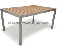 Polywood Conference Table/ Aluminum 4-8 Seaters Dining Table