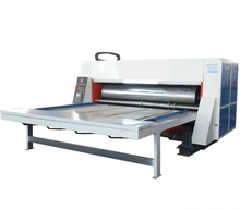 corrugated carton box flexo printing slotting machine/corrugated carton ink printer machine