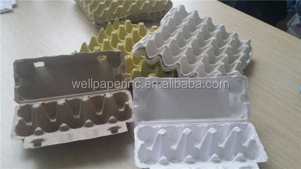 Pulp paper egg tray for sale