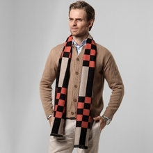 S3421 fashion winter felt shawls knitting patterns thick mens wool scarf on sale
