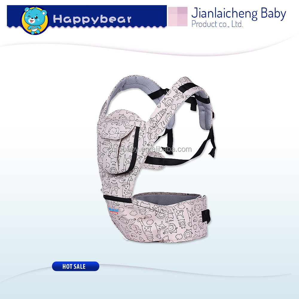 China Happybear Brand Baby Hip Seat Carrier 2016 Cotton Baby Carrier Bag