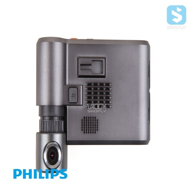 China supplier Philips HD 1080P 110 degree rotation design Car Dash Cam GT300 small car ip camera