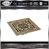 Professional Hot Sale Bathroom Decorative Shower Strainer Anti-odor Best Floor Drain Cover