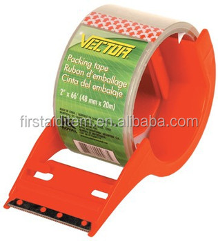 Clear bopp packing tape/parcel tape with dispenser sets