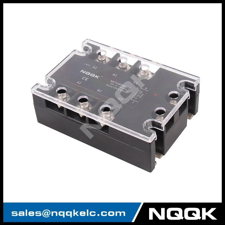 china professional made 40A DC control three phase solid state relay