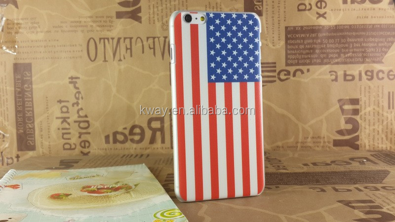 2015 hot sell retro UK Flag US Flag Leather Case for iphone 6