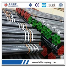 Balck Painting Carbon Seamless Steel Tube Manufacturer in China