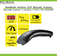 Extraordinary Performance Handheld Wireless CCD Barcode Scanner with memory