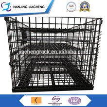 Enough stocked High user evaluation heavy duty metal wire mesh container/storage box/metal warehouse cage