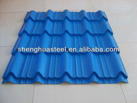 Light Weight 825 Corrugated Color Steel Roof Tile (house tile material)