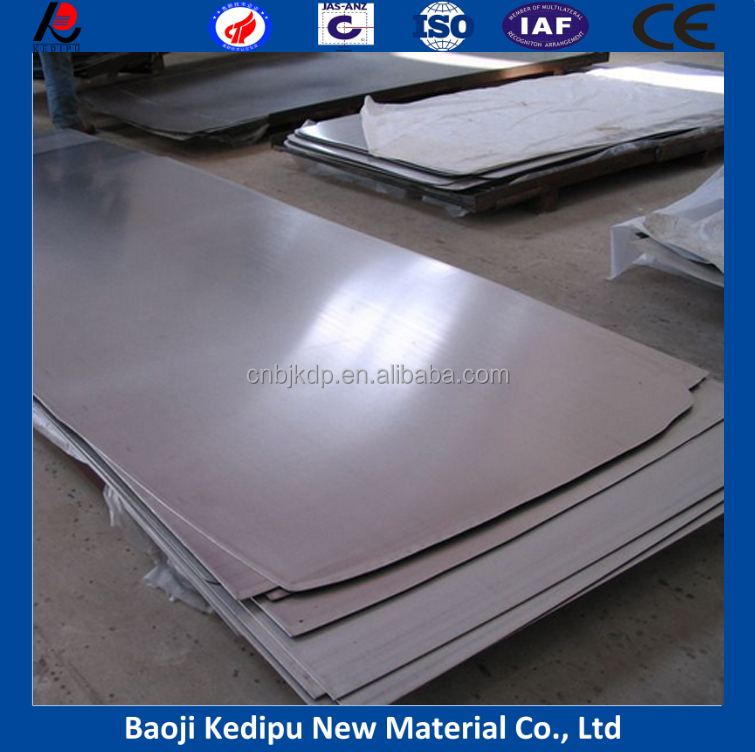 Customizable 99.95% pure tantalum plate/sheet/foil price per kg