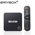 Best selling EM95X tv box Amlogic s905x quad core digital display android 6.0 ott tv box with remotes