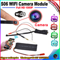 New S06 Full HD 1080P Wireless WiFi P2P Camera Module WIFI Remote Real Time camera recorder Module