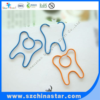 custom shaped paper clips Manufacturer & supplier of custom shape wire clips - promotional items  index products paper clips and bookmarks custom shape wire clips.