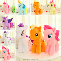 online wholesale toys my little pony rainbow pony with rain tail pony horse toy