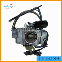 GY6 W/Electric Choke 125cc 150cc Scooter ATV 4 stroke keihin carburetor parts pd24j