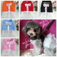 Newest unique design best seller summer wear cool airmesh promotional pet dress lovely pet harness dog clothes