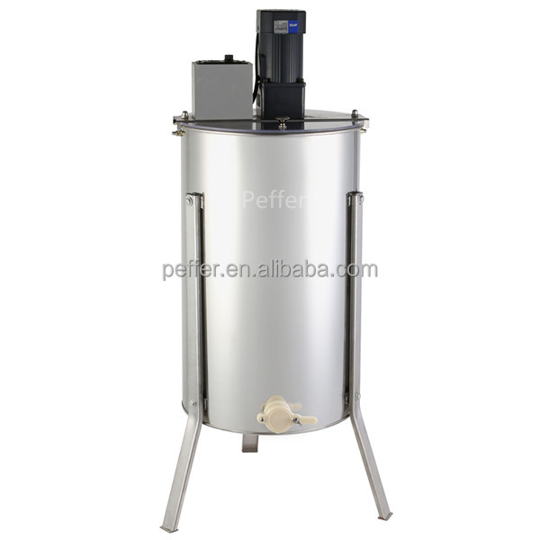 3 frames honey extractor motor kit good quality honey bee harvesting equipment stainless steel extractor