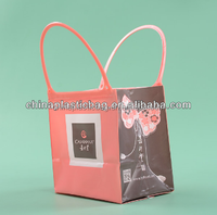 custom healthy plastic ultrasonic gift wrapping plastic bags from manufacturer wholesale