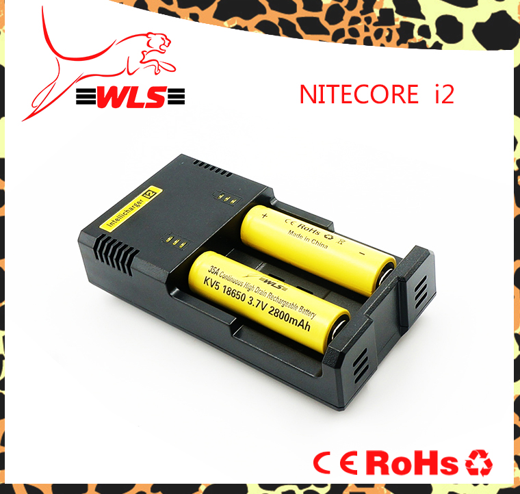 best price wholesale Original18650 solar battery charger Nitecore i2 li-ion battery charger