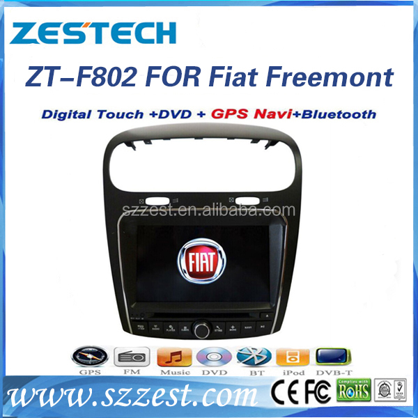 ZESTECH oem car dvd player for Fiat Freemont 2011 2012 car dvd gps car radio auto parts touch screen navis