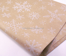 high quality 40 gsm recycled kraft wrapping tissue paper